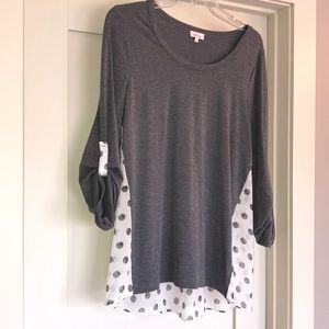 3/4 length ladies top